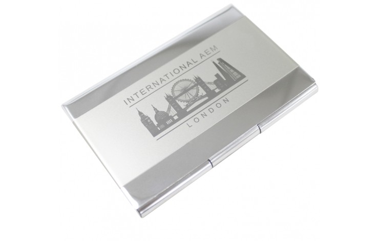 Elliott Metal Card Case