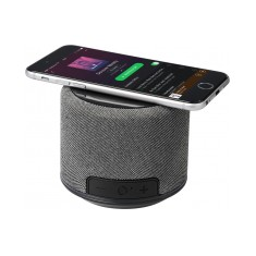 Fabric Bluetooth Speaker and Wireless Charger