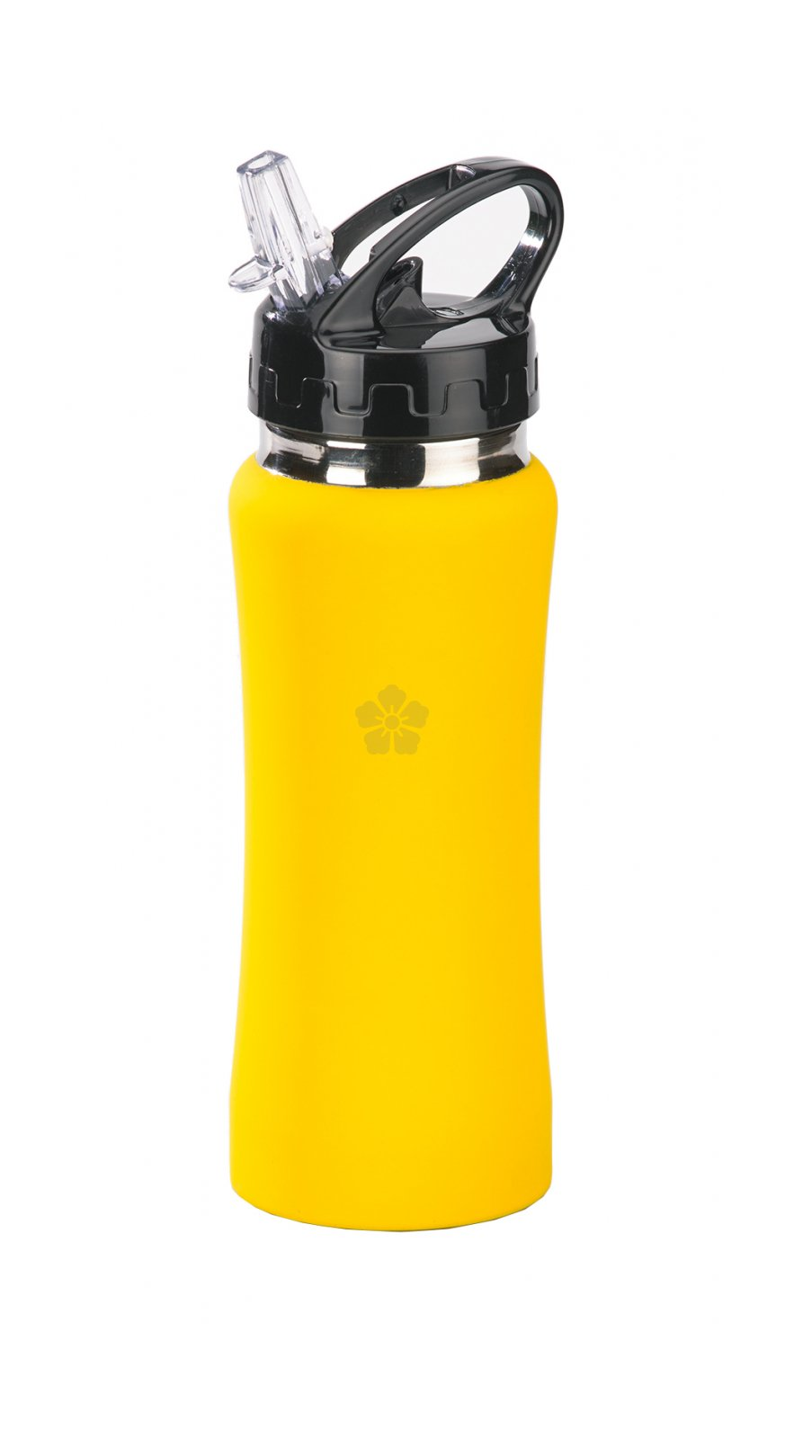 Promotional Faro Soft Touch Water Bottle Personalised By