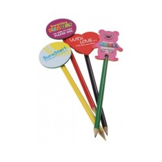 Foam Backed Pencil Toppers