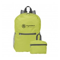 Foldable Back Pack with Front Pocket