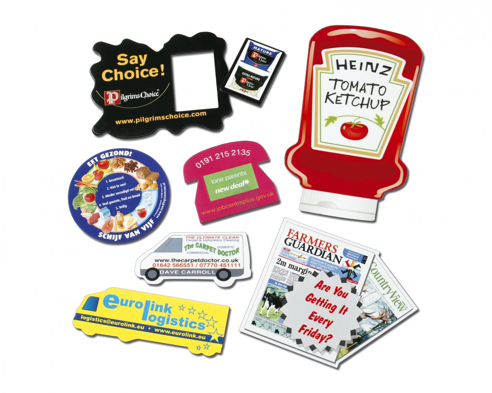 Promotional Fridge Magnets Personalised By Mojo Promotions