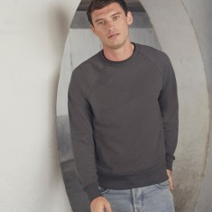 Fruit of the Loom Lightweight Raglan Sweatshirt