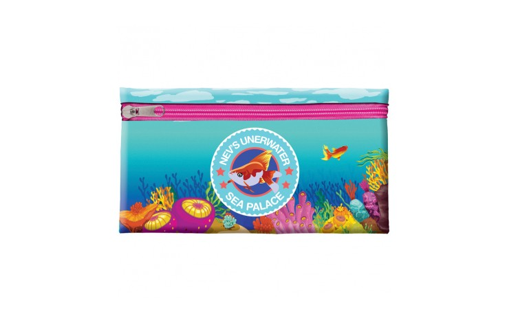 Neoprene Full Colour Pencil Case