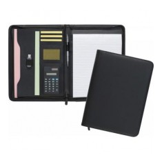 Gallowtree A4 Zipped Folder with Calculator