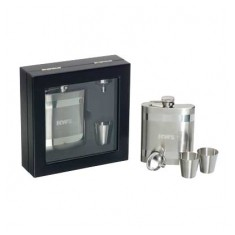 Geneva Hip Flask Set