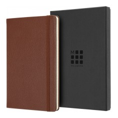 Genuine Leather A5 Moleskine Notebook
