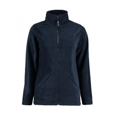 Regular Fit Ladies Full Zip Active Fleece