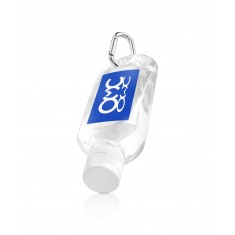 Hand Sanitiser on Carabiner Clip