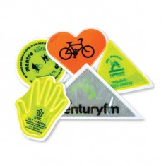 Hi Vis Road Safety Sticker