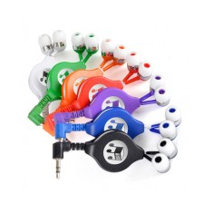 Retractable Holly Earphones