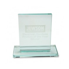 Jade Flat Glass Rectangle Award