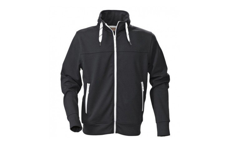 Jog Mens Sporty Full Zip Sweat Jacket