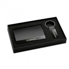 Keyring and Business Card Holder Set