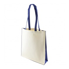 Kuku 10oz Canvas Bag with Long Dyed Cotton Handles
