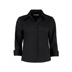 Kustom Kit Ladies Three Quarter Sleeve Premium Shirt