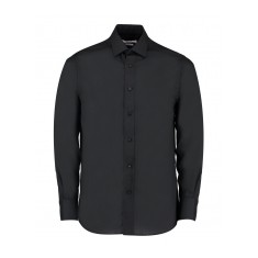 Kustom Kit Men's Tailored Fit Long Sleeve Business Shirt