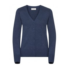 Ladies V-Neck Knitted Cardigan