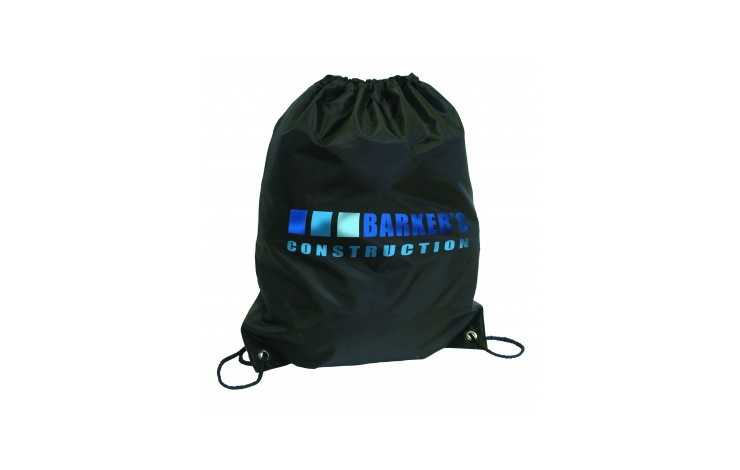 Large Budget Drawstring Bag