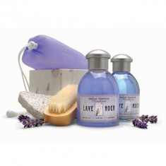 Lavender Bath Set