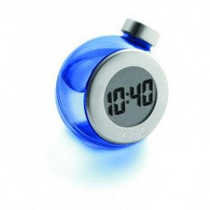 LCD Water Powered Desk Clock
