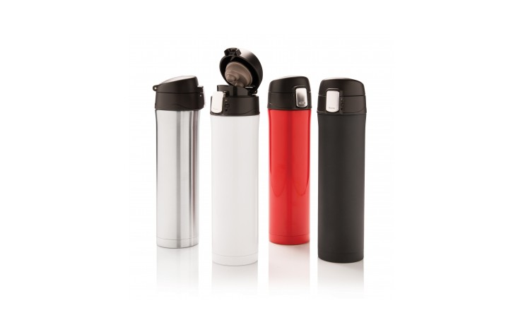 Lock Button Flask