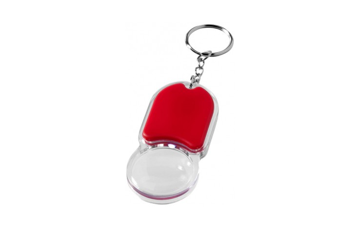 Magnifier Keyring with LED