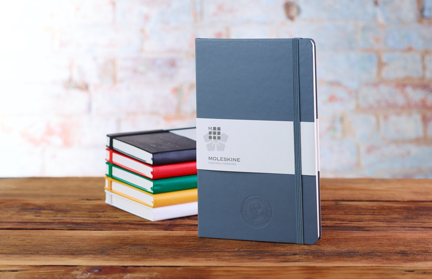 Promotional Moleskine A5 Notebook Personalised By Mojo