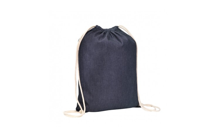 Moorgate Denim Drawstring Bag