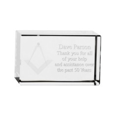 Optical Crystal Rectangle