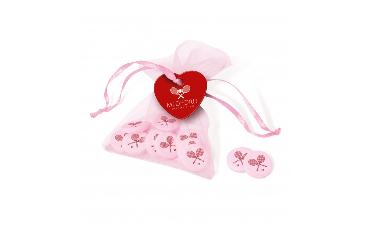 Organza Bag with Icon Sweets