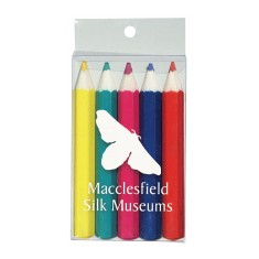 Pack of 5 Half Length Colouring Pencils