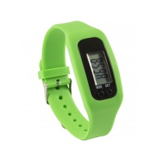 Pedometer with Silicone Wristband