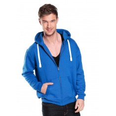 Premium Zip Hoodie With Flat Cords