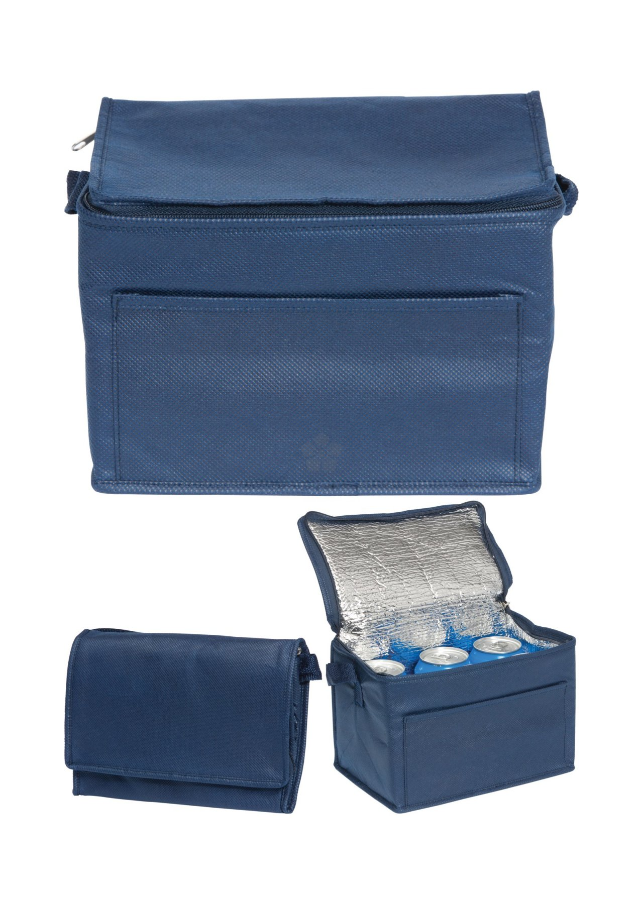 6 Can Cooler ~ Promotional rainham can cooler bag personalised by mojo