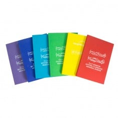 Recycled Coloured Card Perfect Bound A5 Notepad