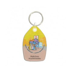 Recycled Drinks Bottle Keyring