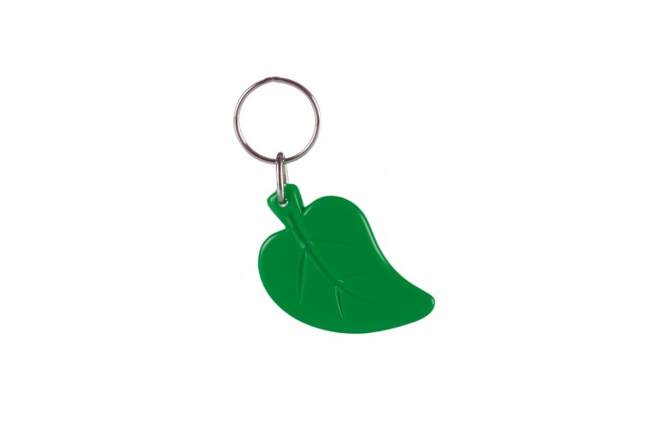 Recycled Leaf Keyring