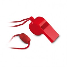 Referee Whistle with Neck Cord