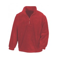 Result Unlined Active Quarter Zip Fleece Top