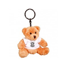 Robbie Bear Keyring with White T Shirt