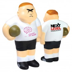 Rugby Player Stress Item