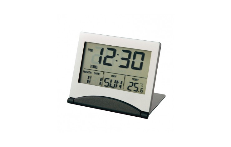 Promotional Slim Lcd Alarm Clock Personalised By Mojo