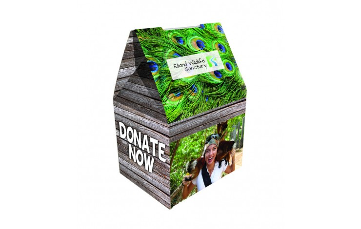 Small Foldable Charity Box