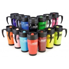Solid Plastic Travel Mug