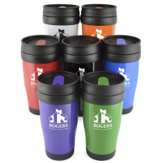 Solid Plastic Travel Tumbler