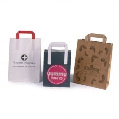 SOS Flat Tape Carrier Bag