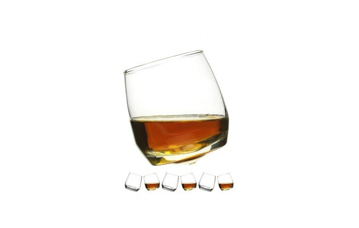 Spinning Whisky Glass