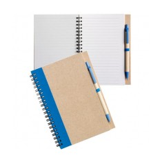 Recycled Notebook & Pen Set