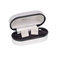 Square Silver Plated Cufflinks
